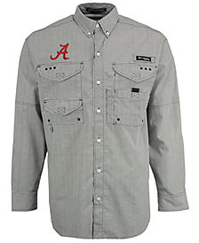 Columbia Men's Alabama Crimson Tide Super Bonehead Long Sleeve Shirt