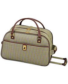 "CLOSEOUT! London Fog Oxford Hyperlight 19"" Wheeled International Club Bag, Created for Macy's"