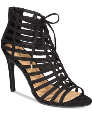 Material Girl Raquel Caged Dress Sandals, Created for Macy