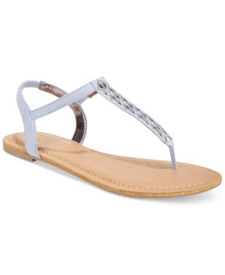 Image of Material Girl Skyler Flat Sandals, Created for Macy's