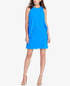 Lauren Ralph Lauren Overlay Shift Dress