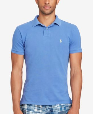 Image of Polo Ralph Lauren Men's Classic-Fit Weathered Mesh Polo