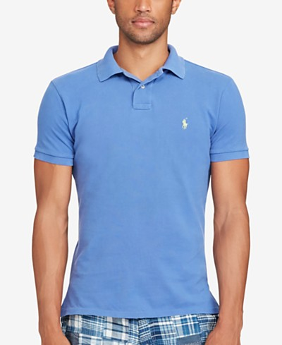 Polo Ralph Lauren Men's Classic-Fit Weathered Mesh Polo