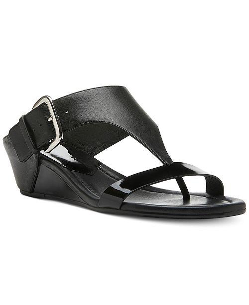 0f656c719ff9 Donald Pliner Doli Wedge Sandals   Reviews - Sandals   Flip Flops ...