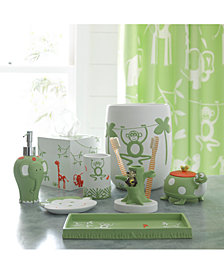 Kassatex Kassa Kids Jungle Bath Accessories Collection
