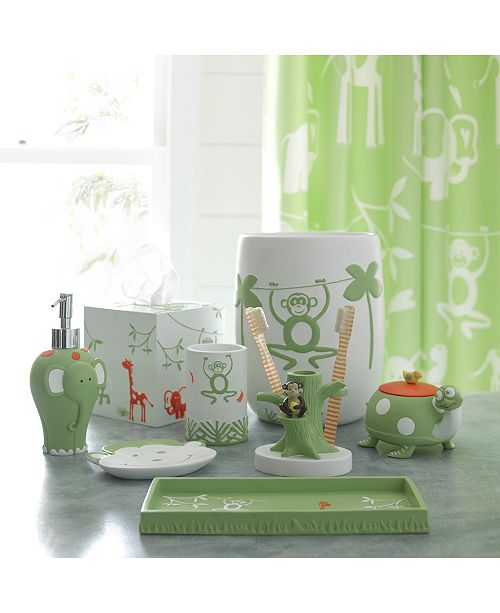 Make Every Day An Adventure With The Friendly Animals That Inhabit Katex Ka Kids Jungle Bath Accessories Collection