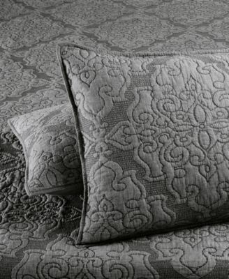 Gilded Age 100% Cotton Quilted Standard Sham, Created for Macy's