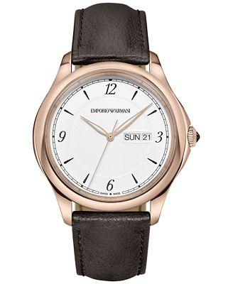 Emporio Armani Swiss Watches !