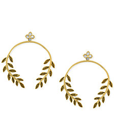 RACHEL Rachel Roy Gold-Tone Vine Drop Earrings