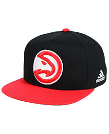 adidas Kids' Atlanta Hawks XL 2-Color Snapback Cap