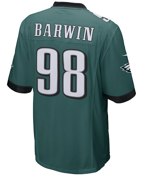 Nike Men's Connor Barwin Philadelphia Eagles Game Jersey
