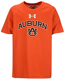 Under Armour  Kids' Auburn Tigers Tech T-Shirt, Big Boys (8-20)
