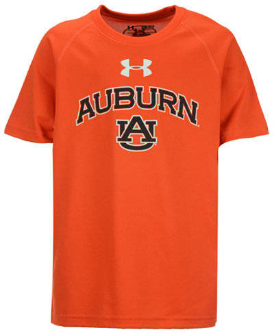 Under Armour Kids' Auburn Tigers Tech T-Shirt, Big Boys (8-20)
