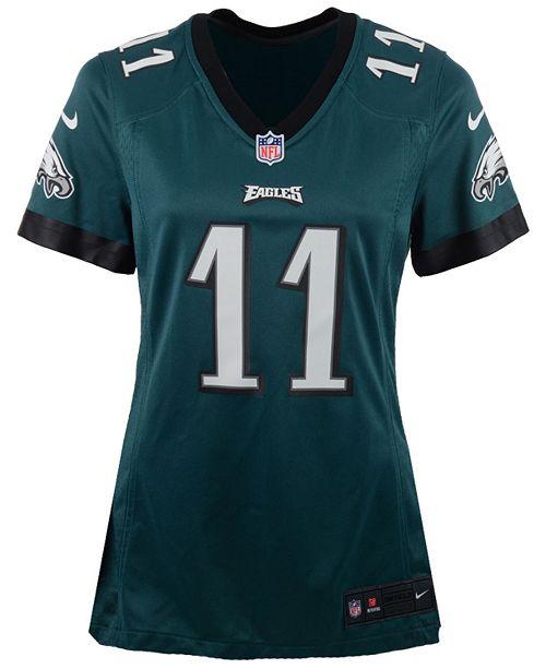huge discount 244ec 1ee79 Women's Carson Wentz Philadelphia Eagles Game Jersey