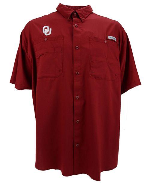 Columbia Men's Oklahoma Sooners Tamiami Shirt
