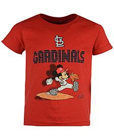 Outerstuff Toddlers' St. Louis Cardinals Mickey Lights T-Shirt