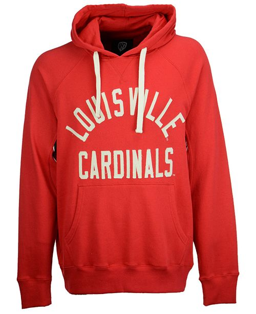 G-III Sports Men's Louisville Cardinals Motion Pull Over Hooded Sweatshirt
