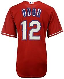 Majestic Men's Rougned Odor Texas Rangers Player Replica CB Jersey