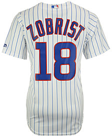 Majestic Men's Ben Zobrist Chicago Cubs Player Replica CB Jersey