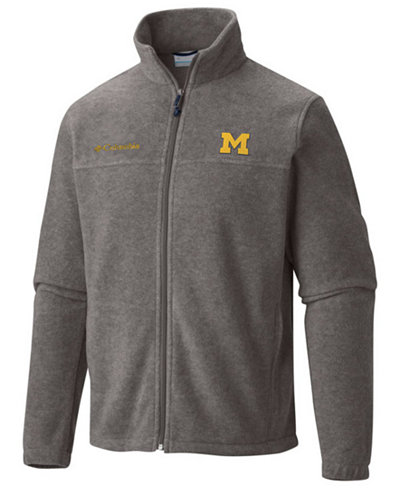 Columbia Men's Michigan Wolverines Flanker Full-Zip Jacket