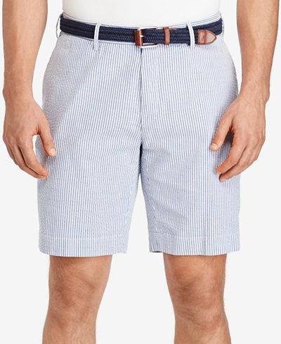 Polo Ralph Lauren Men's Big & Tall Stretch Seersucker Shorts ...