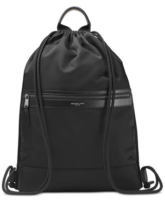 Michael Kors Men's Kent Flat Drawstring Backpack - Accessories ...