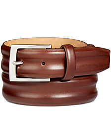 Tasso Elba Men's Leather Belt, Created for Macy's