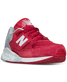 New Balance Men's 530 Suede Casual Sneakers from Finish Line