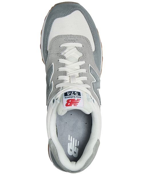 timeless design edac6 992ef New Balance Men's 574 Retro Sport Casual Sneakers from ...