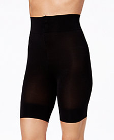 DKNY Women's Mid-Thigh Compression Boy Shorts
