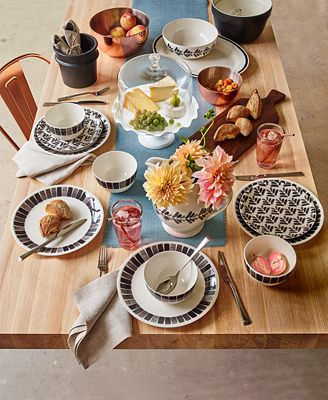 New! Martha Stewart Collection Heirloom Dinnerware Collection, Only at Macy's
