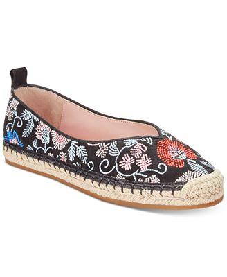 Avec Les Filles Gisella Embroidered Espadrille Flats