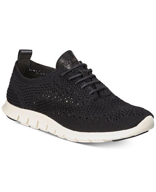 488d06cb551ea2 Cole Haan Women s Zerøgrand StitchLite Oxford Sneakers   Reviews ...