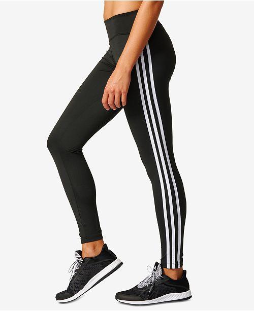 adidas leggings three stripes