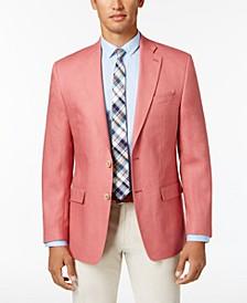 Men's Classic-Fit Ultraflex Stretch Solid Linen Suit Separates