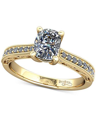 Diamond Filigree Mount Setting (1/6 ct. t.w.) in 14k Gold