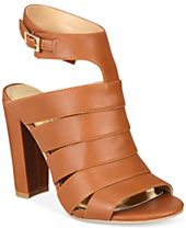 Thalia Sodi Wide-Width Ebbony Strappy Dress Sandals, Created for Macy's