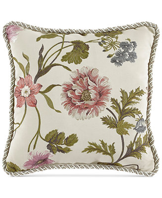 Croscill Daphne 18 Quot Square Decorative Pillow Bedding