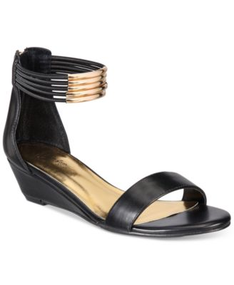 Image of Thalia Sodi Leyna Wedge Sandals, Only at Macy's