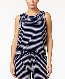 Nautica Striped Pajama Tank Top