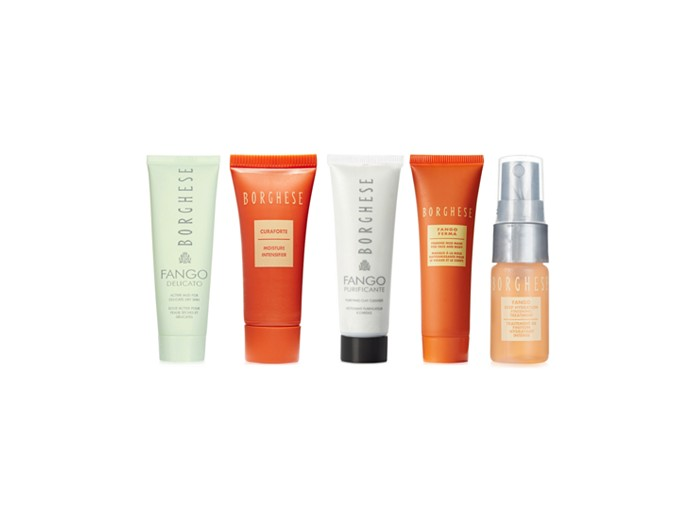 Receive a free 5-piece bonus gift with your $50 Borghese purchase