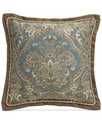 """CLOSEOUT! Cadeau 18"""" Square Decorative Pillow"""