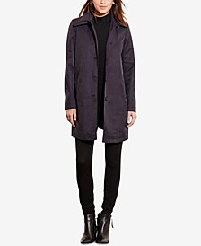 Petite Single-Breasted Trench Coat, Created for Macy's