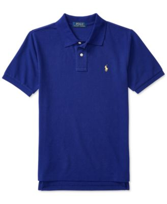 Image of Ralph Lauren Mesh Polo Shirt, Big Boys (8-20)