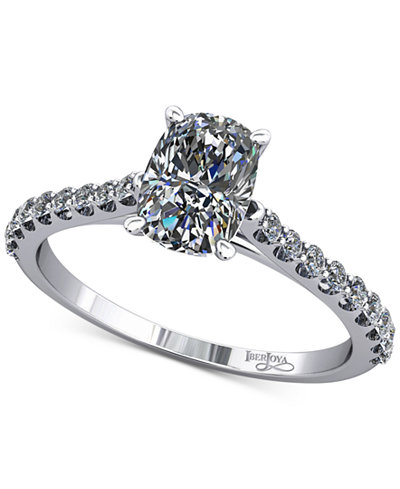 Diamond Cathedral Mount Setting (1/5 ct. t.w.) in 14k White Gold