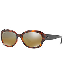 Ray-Ban Polarized Chromance Collection Sunglasses, RB4282CH 55