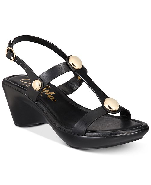 Callisto Toggle Wedge Sandals Women's Shoes Qh831