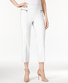 Style & Co Petite Pull-On Cropped Pants, Created for Macy's