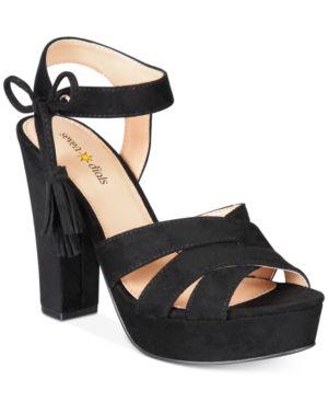 Seven Dials Naomi Platform Block-Heel Sandals Women