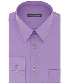 Geoffrey Beene Men's Classic-Fit Wrinkle Free Bedford Cord Dress Shirt